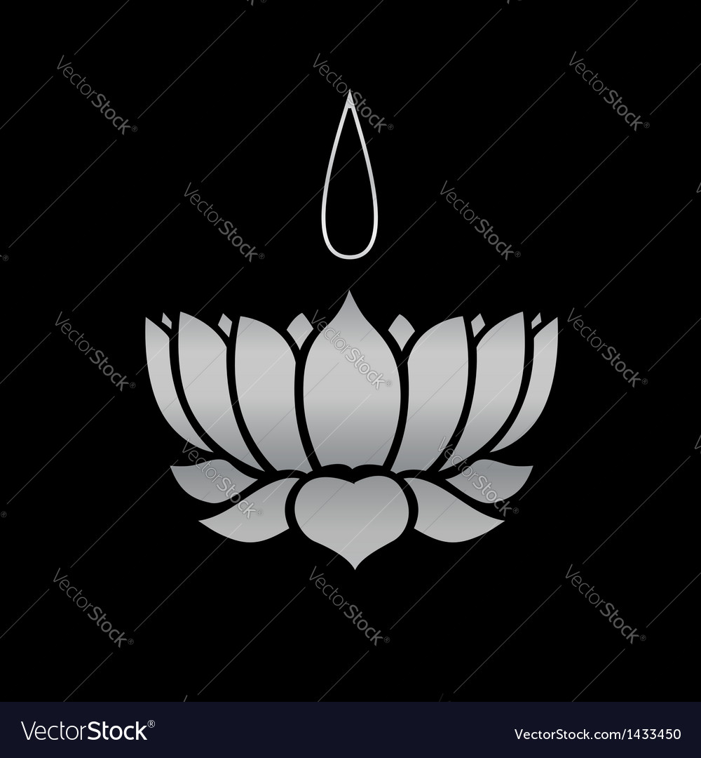 Ayyavazhi religion-lotus carrying namam vector | Price: 1 Credit (USD $1)