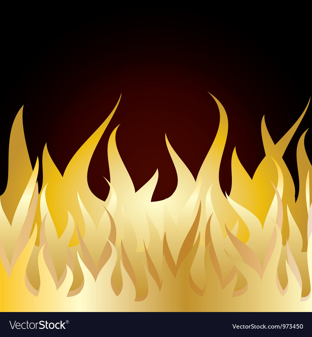 Burn flame fire vector | Price: 1 Credit (USD $1)