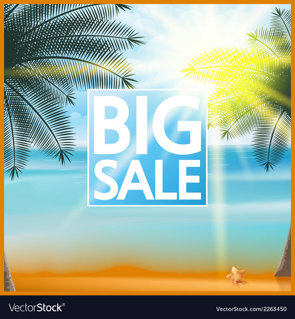Summer sale tourism badge vector | Price: 1 Credit (USD $1)