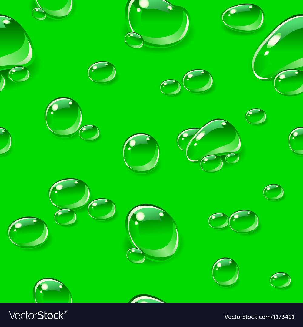 Dew drops seamless pattern vector | Price: 1 Credit (USD $1)