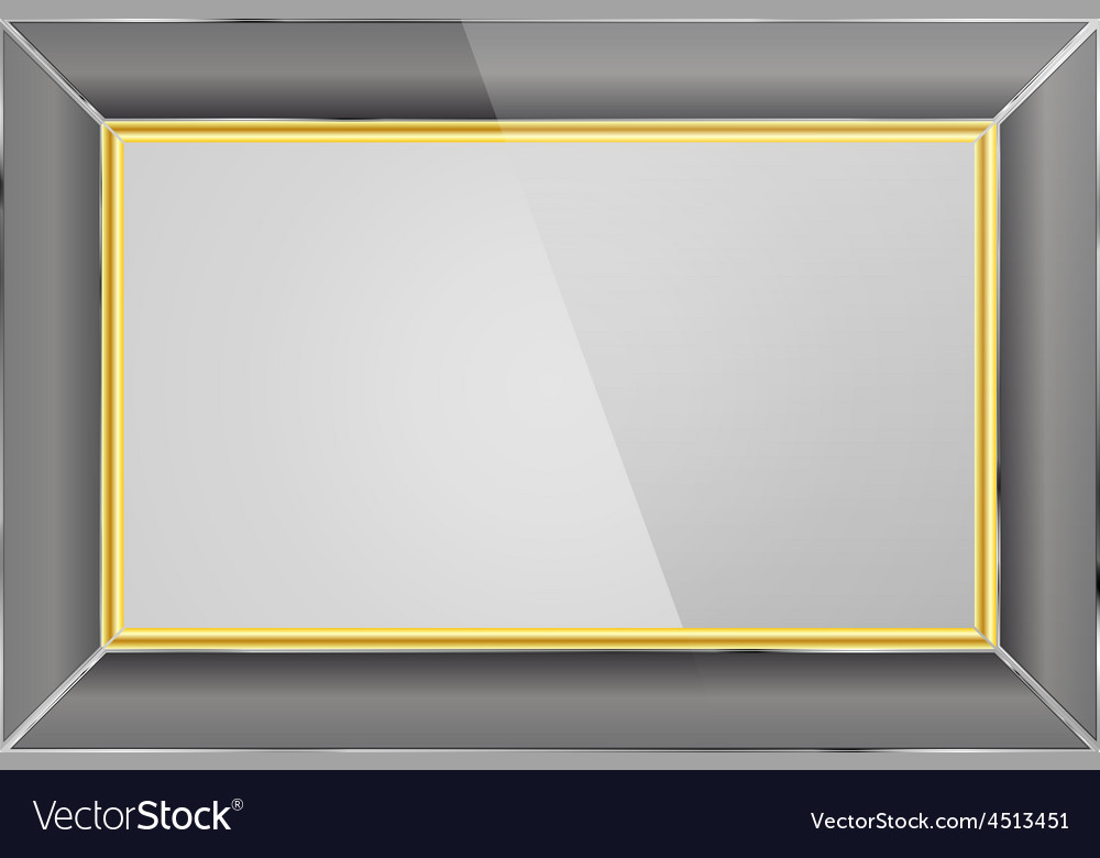 Realistic photo frame vector | Price: 1 Credit (USD $1)