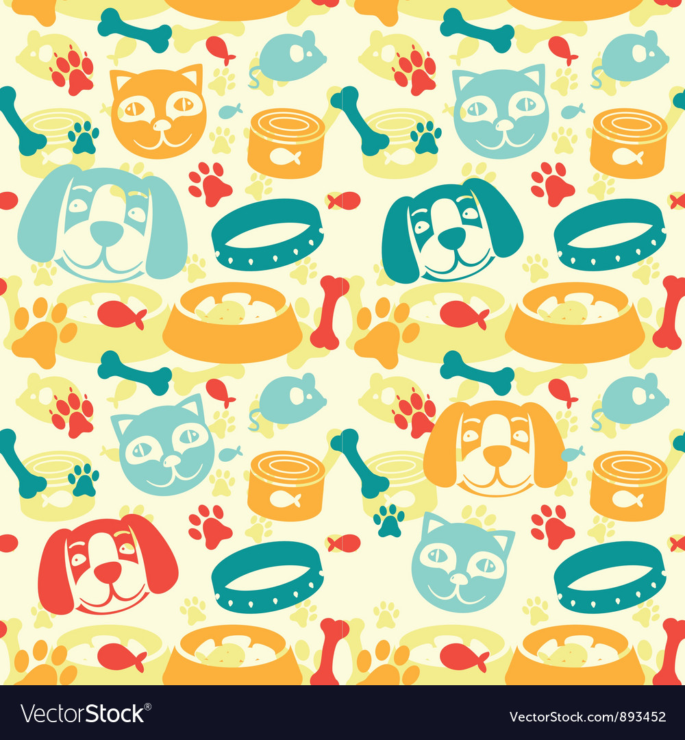 Bright seamless pattern vector | Price: 1 Credit (USD $1)