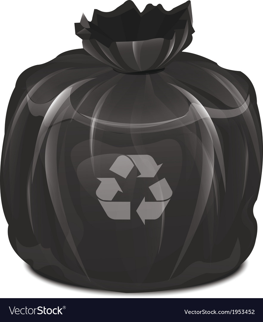 Garbage bag vector | Price: 1 Credit (USD $1)