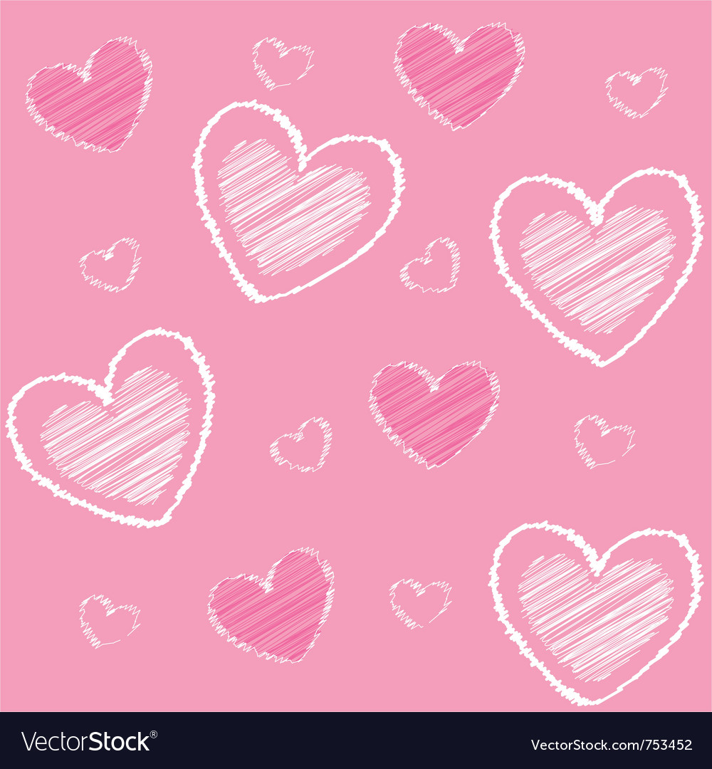 Hearts valentine vector | Price: 1 Credit (USD $1)