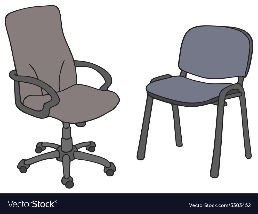 Office chais vector | Price: 1 Credit (USD $1)