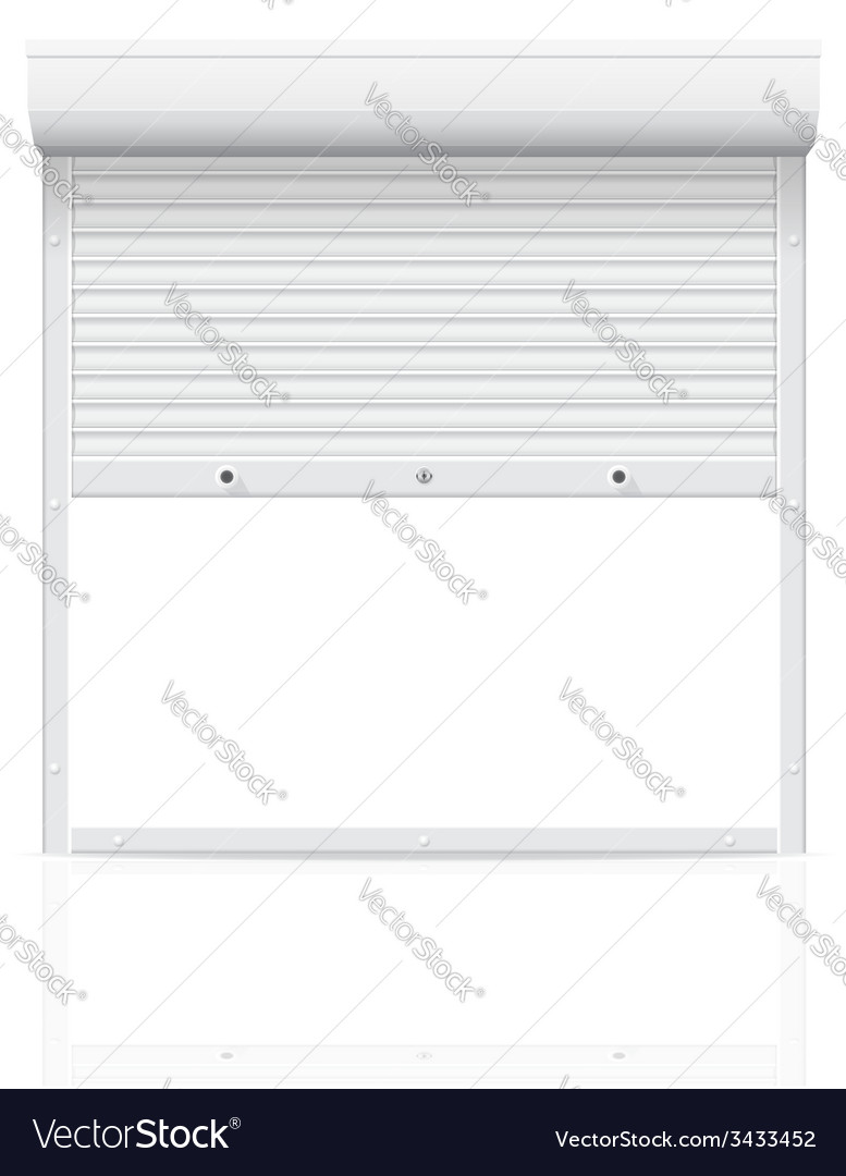 Rolling shutters 02 vector | Price: 1 Credit (USD $1)