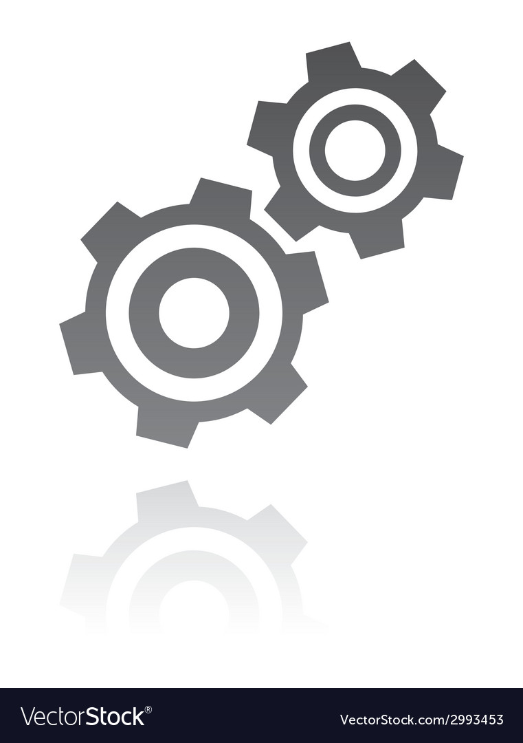 Gear icon industrial concept vector | Price: 1 Credit (USD $1)