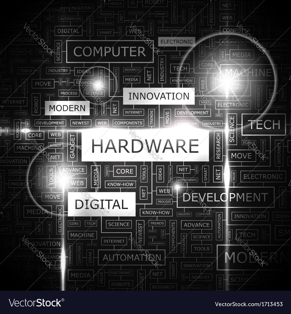 Hardware vector | Price: 1 Credit (USD $1)