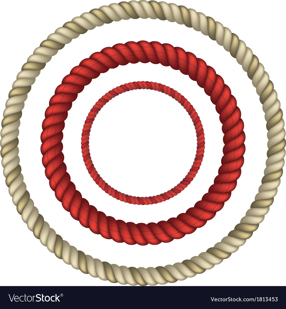 Rope circular vector | Price: 1 Credit (USD $1)