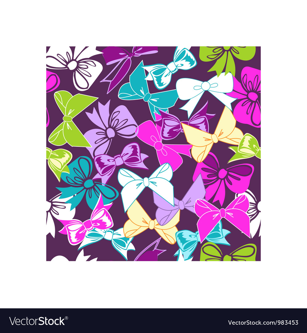 Sweet bows vector | Price: 1 Credit (USD $1)