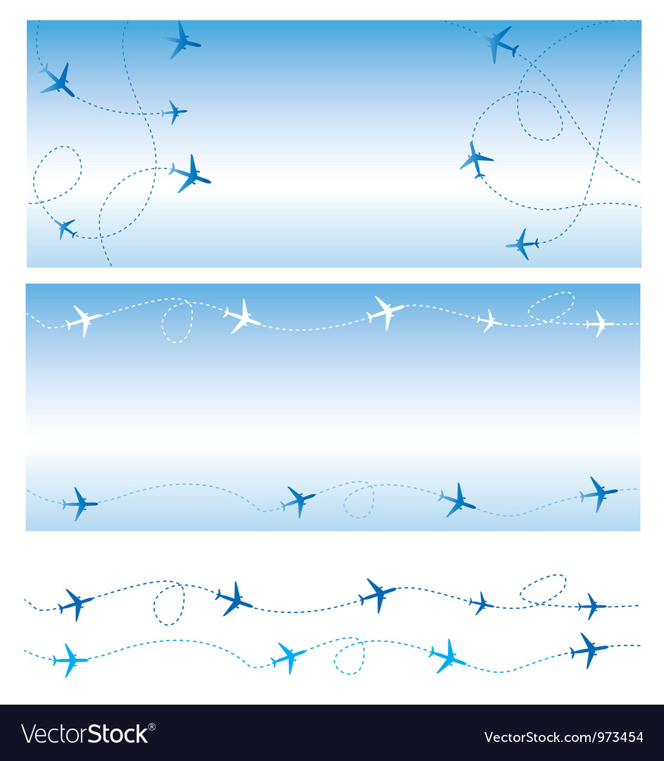 Air travel vector | Price: 1 Credit (USD $1)