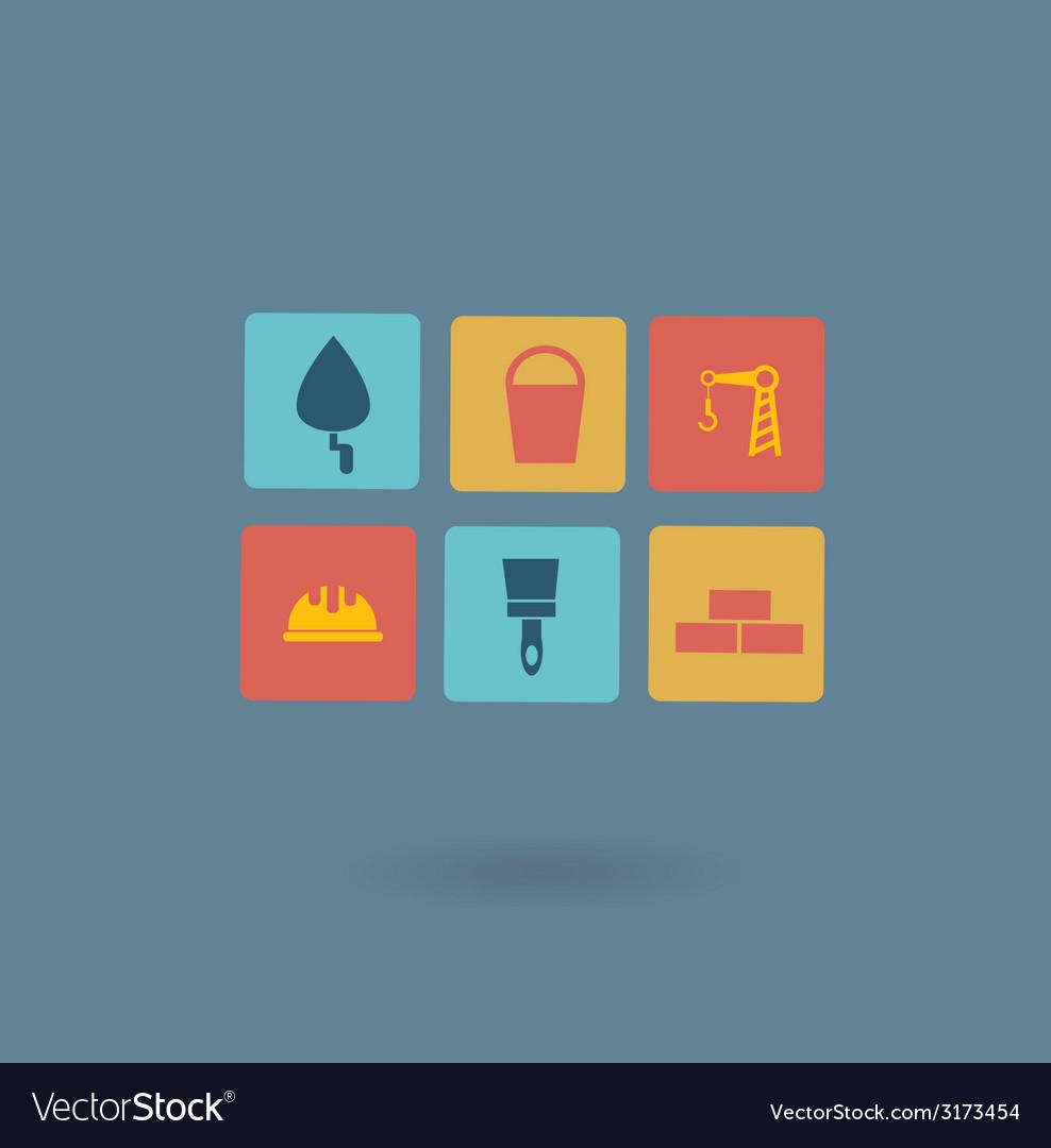 Construction icon vector | Price: 1 Credit (USD $1)