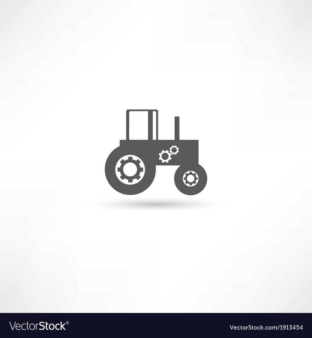 Farming tractor vector   Price: 1 Credit (USD $1)