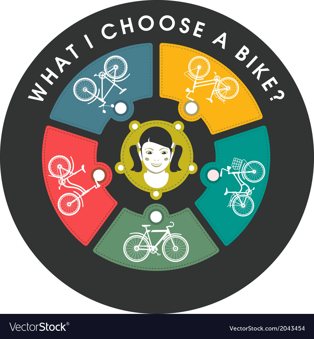 Selecting a bike vector | Price: 1 Credit (USD $1)