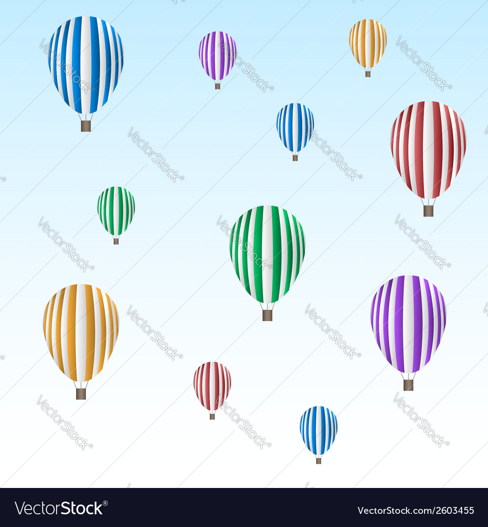 Balloon set vector | Price: 1 Credit (USD $1)