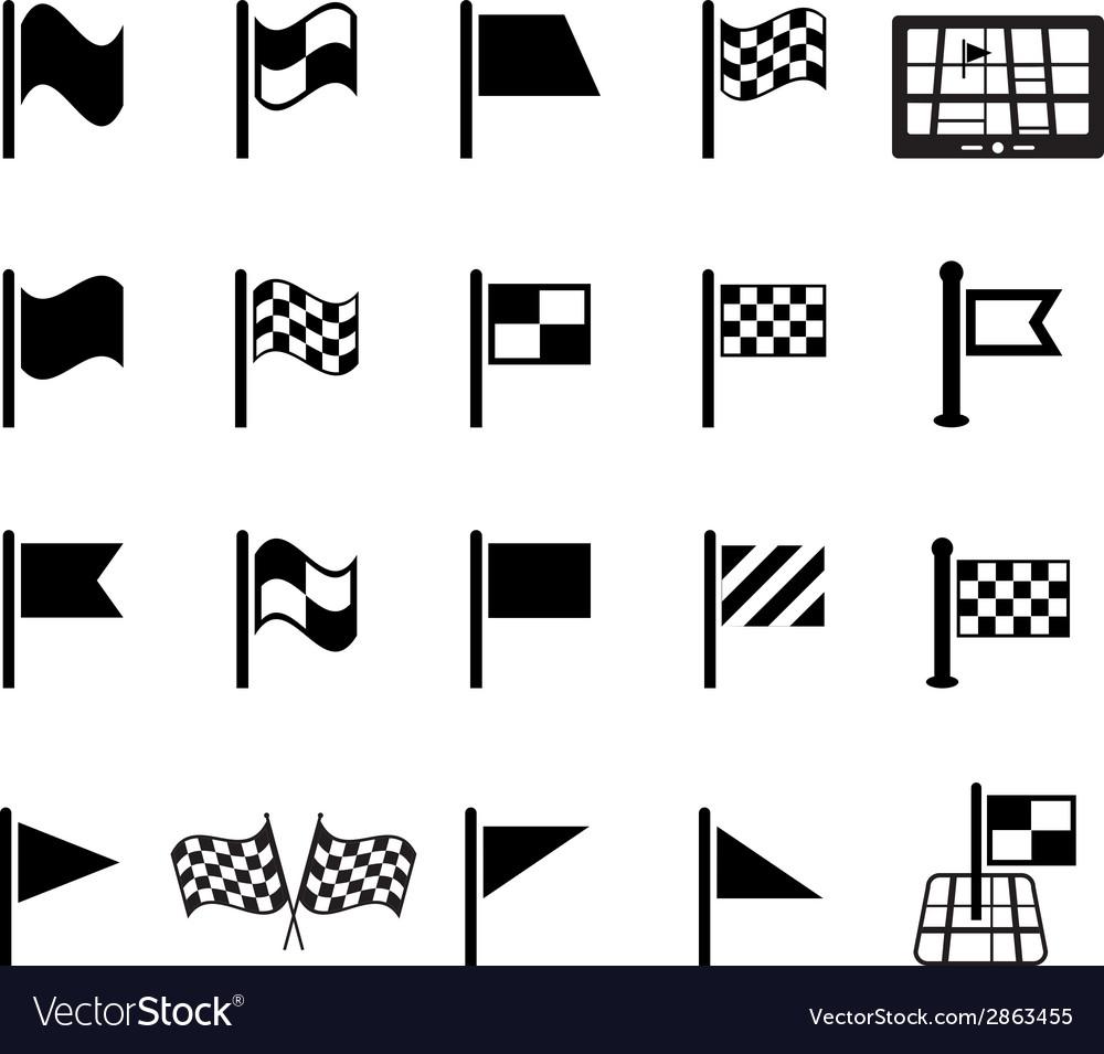 Flag icon vector | Price: 1 Credit (USD $1)