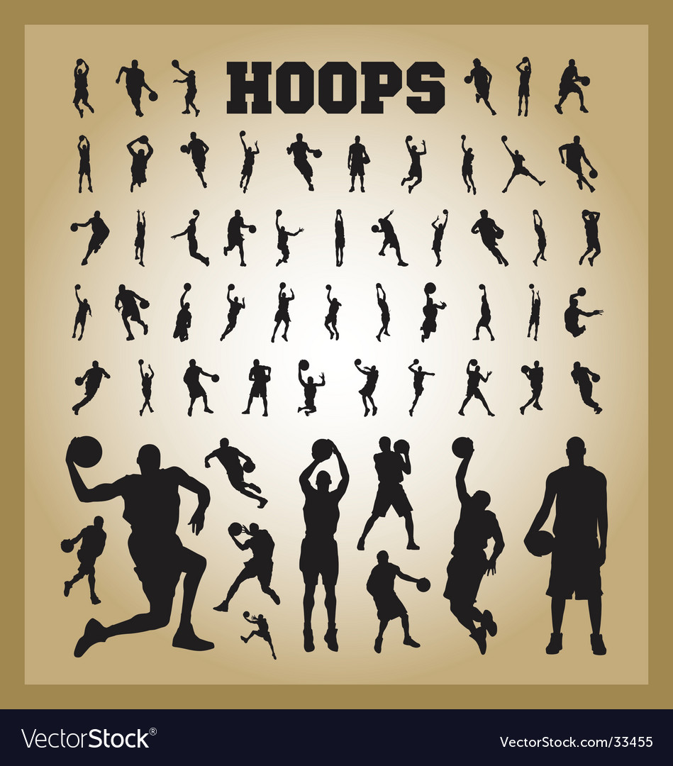 Hoops vector | Price: 1 Credit (USD $1)