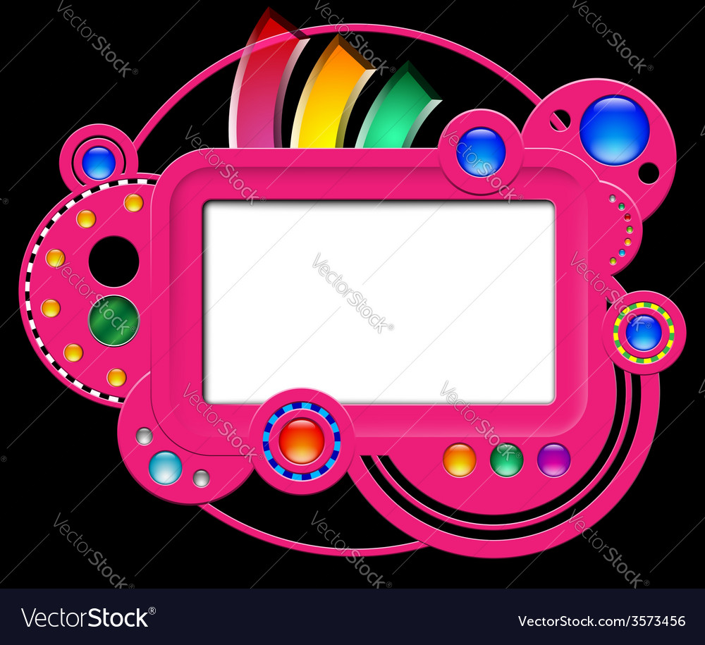 Abstract pink web site vector | Price: 1 Credit (USD $1)