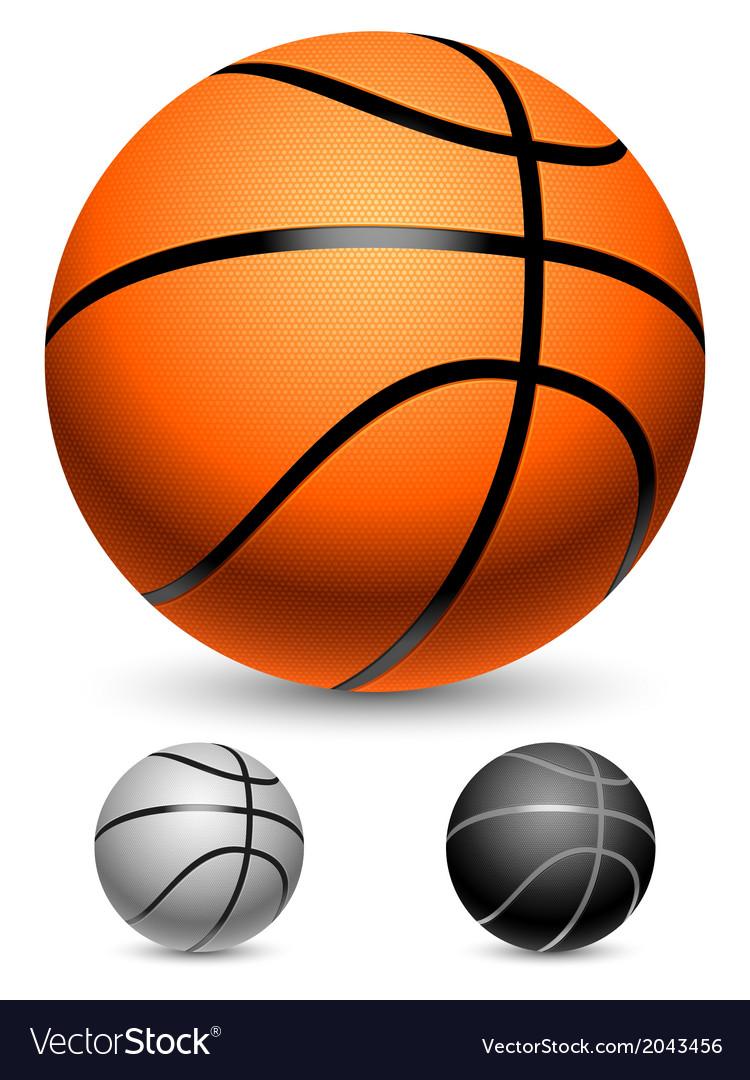 Basketball balls vector | Price: 1 Credit (USD $1)