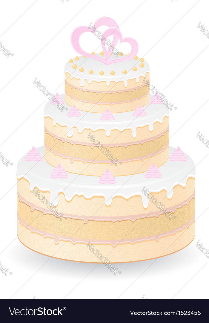Cake 07 vector | Price: 1 Credit (USD $1)