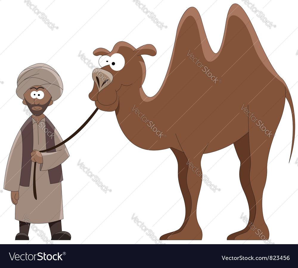 Camel vector | Price: 3 Credit (USD $3)