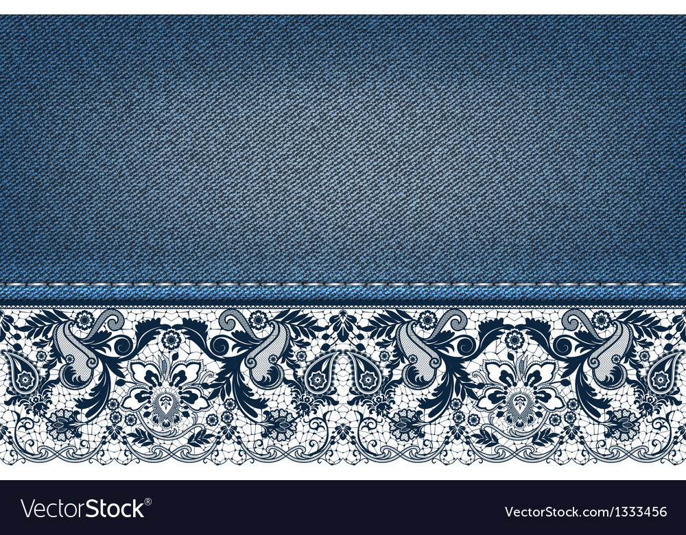 Floral lace background vector | Price: 1 Credit (USD $1)