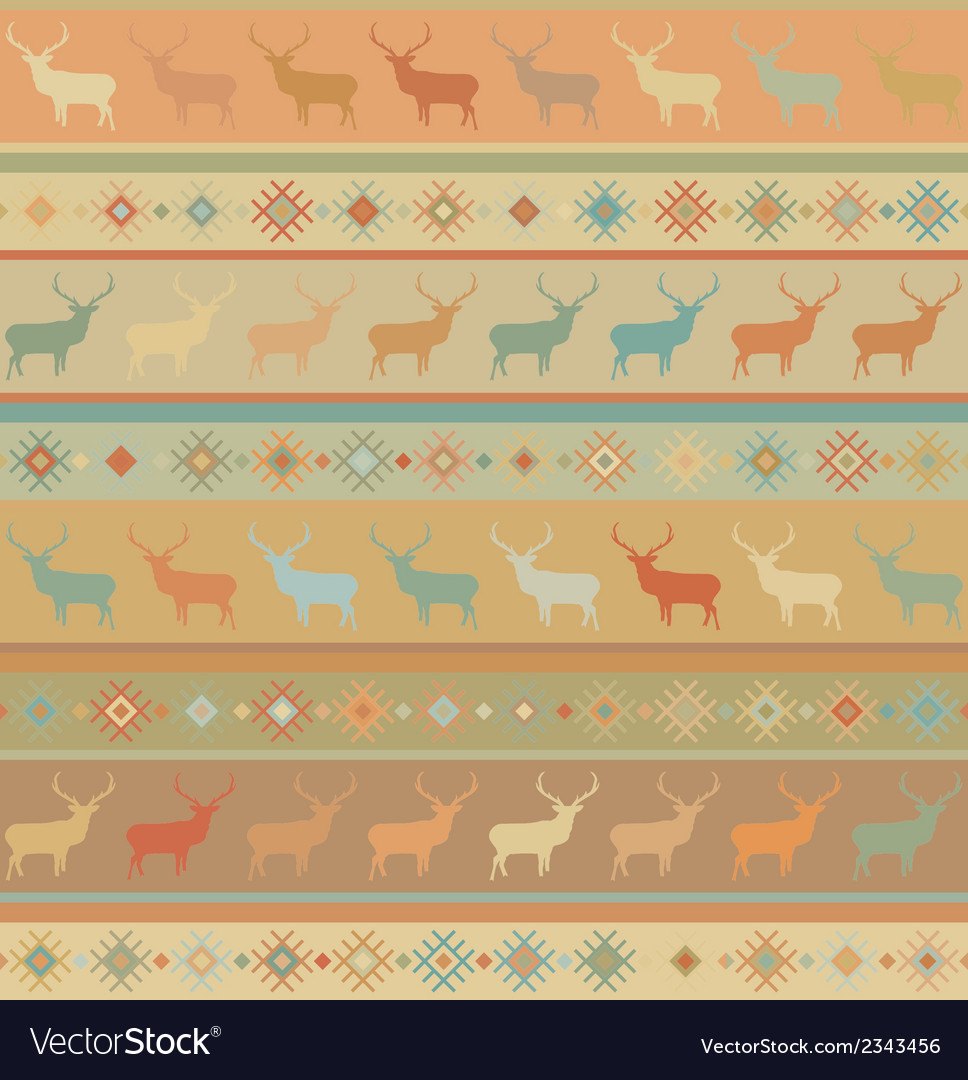 Norwegian seamless pattern eps 8 vector | Price: 1 Credit (USD $1)