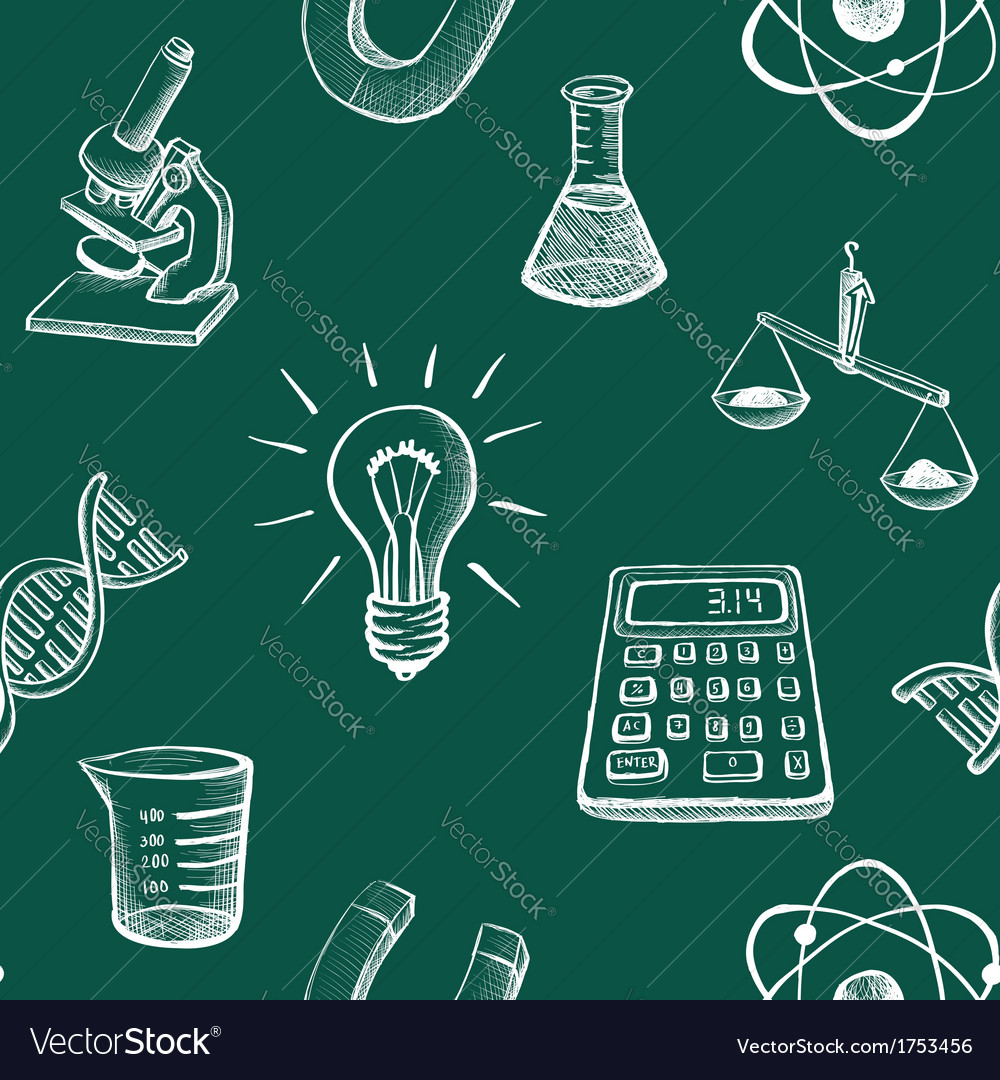 Science icons sketch vector | Price: 1 Credit (USD $1)