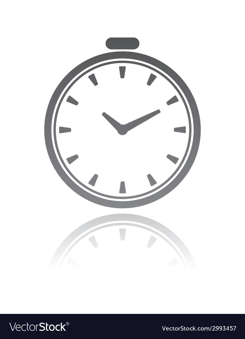 A clock time concept vector | Price: 1 Credit (USD $1)
