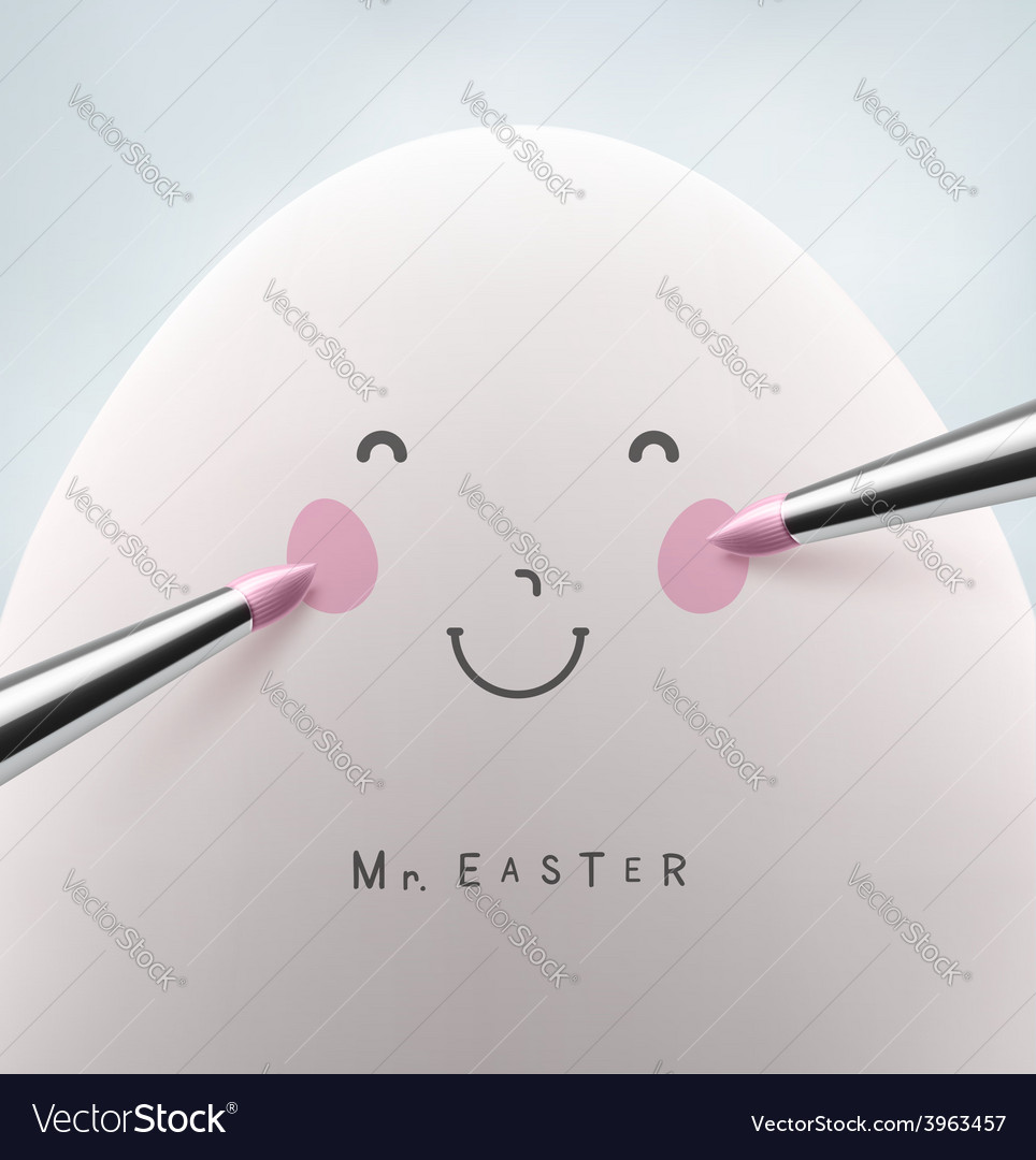 Mister easter vector | Price: 1 Credit (USD $1)