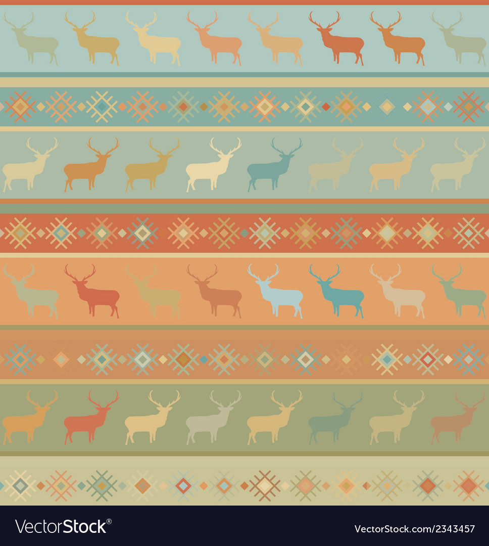 Norwegian seamless pattern eps 8 vector | Price: 1 Credit (USD $1)