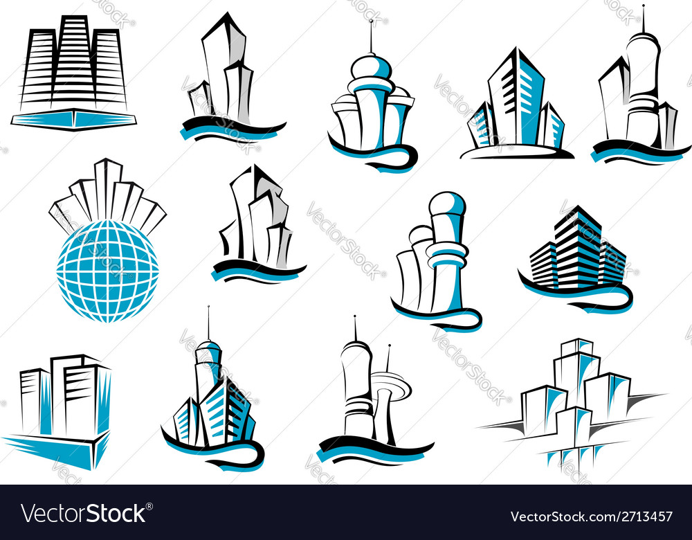 Office telecommunication and residential vector | Price: 1 Credit (USD $1)
