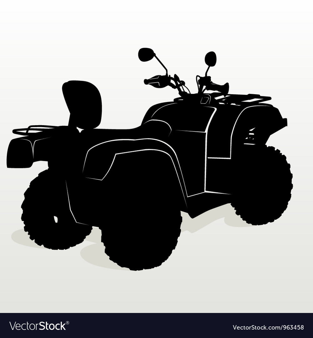 Contour atv vector | Price: 1 Credit (USD $1)