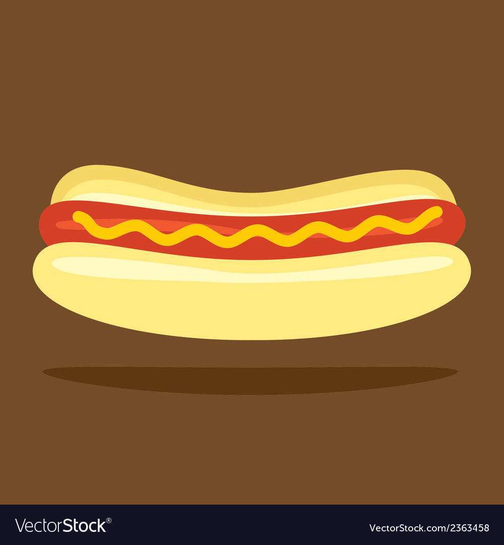Hotdog bun vector | Price: 1 Credit (USD $1)
