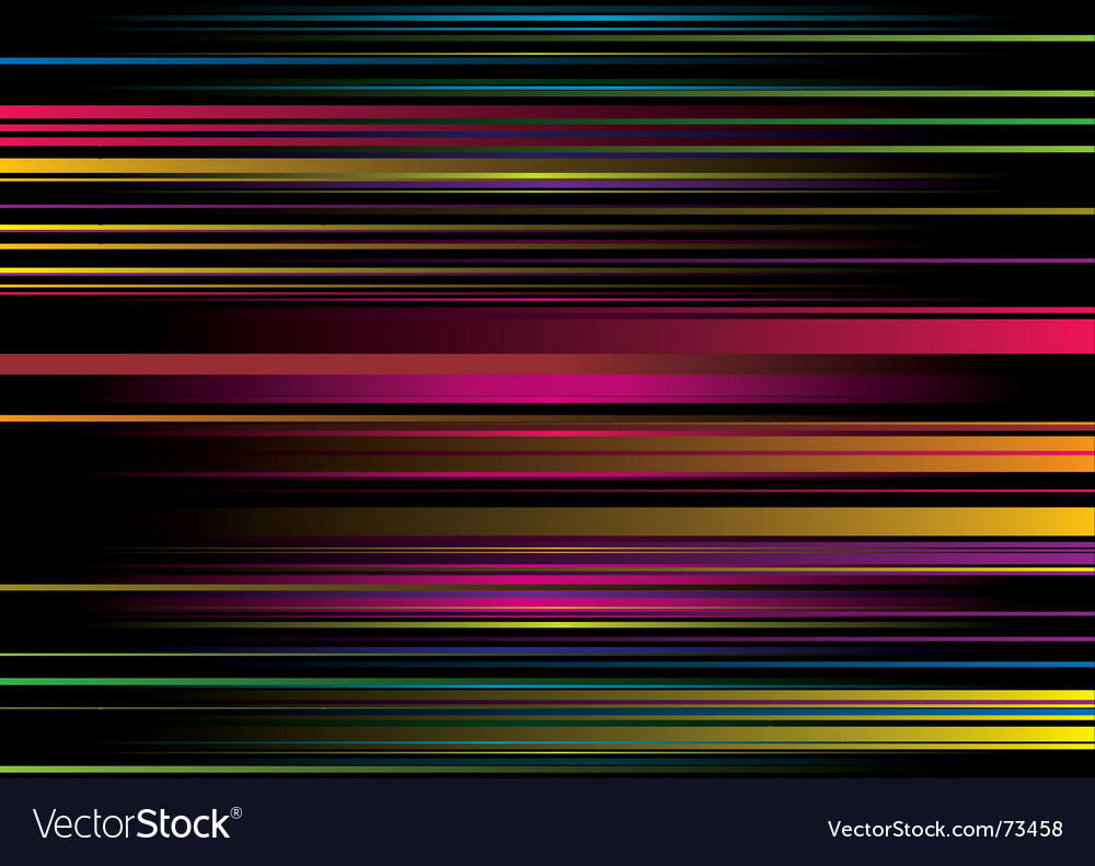 Rainbow stripe ribbon vector | Price: 1 Credit (USD $1)
