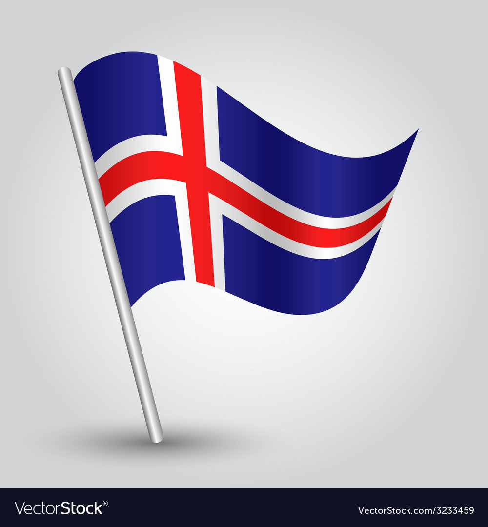 Flag iceland vector   Price: 1 Credit (USD $1)