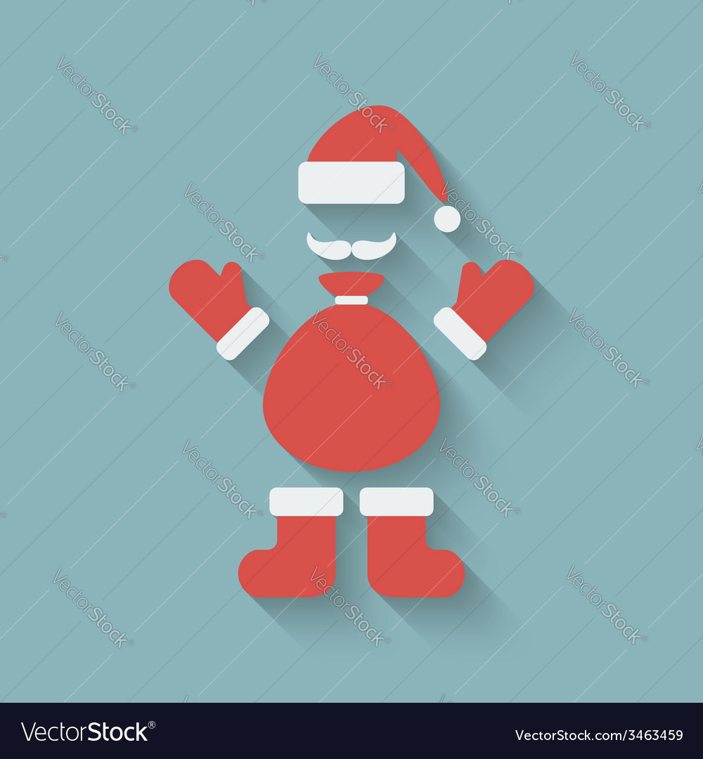 Santa claus design element vector | Price: 1 Credit (USD $1)
