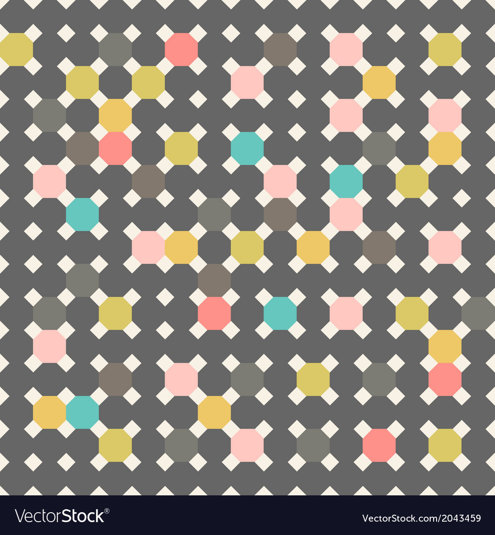 Simple geometric seamless vector | Price: 1 Credit (USD $1)