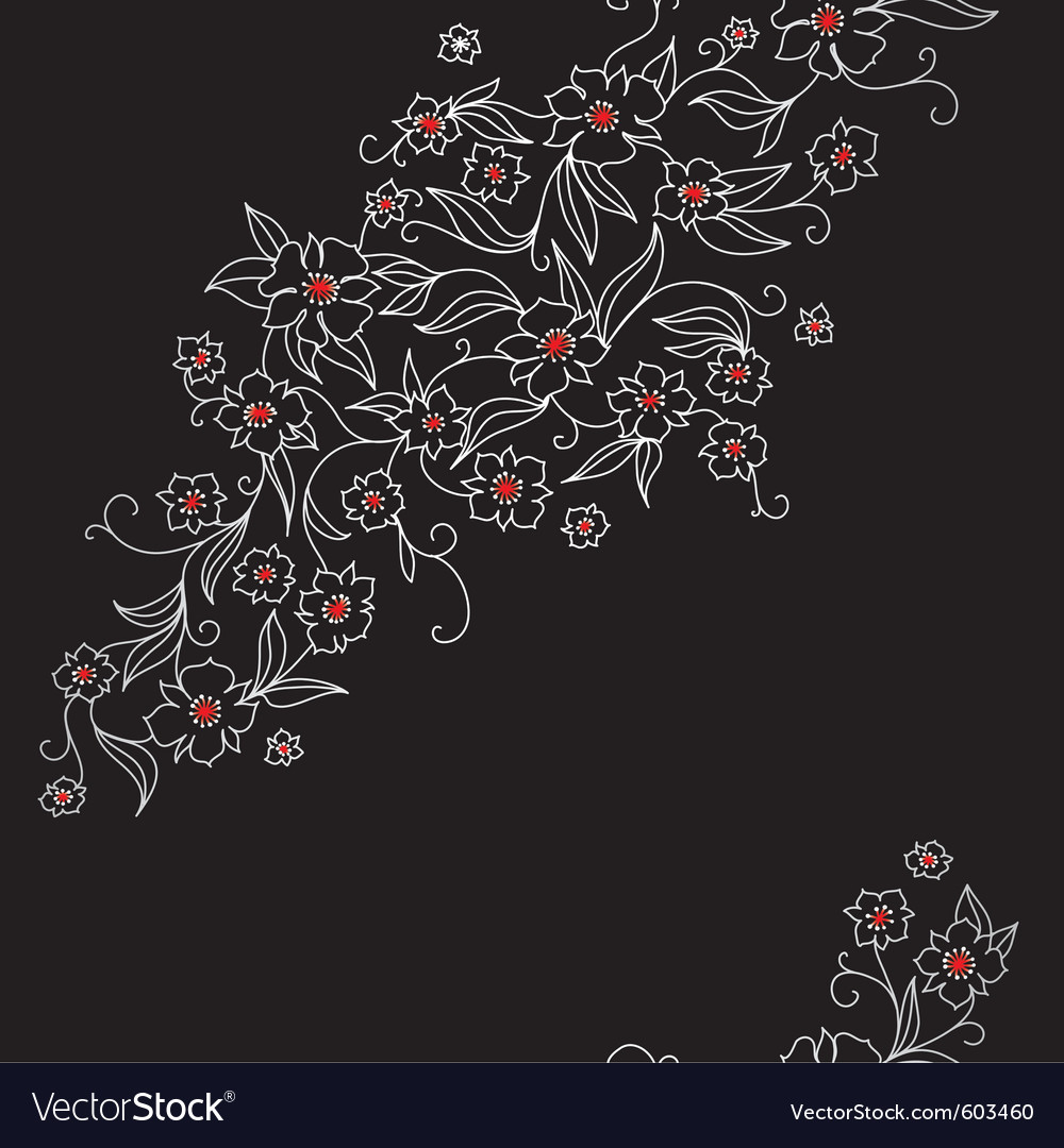 Japan floral vector | Price: 1 Credit (USD $1)