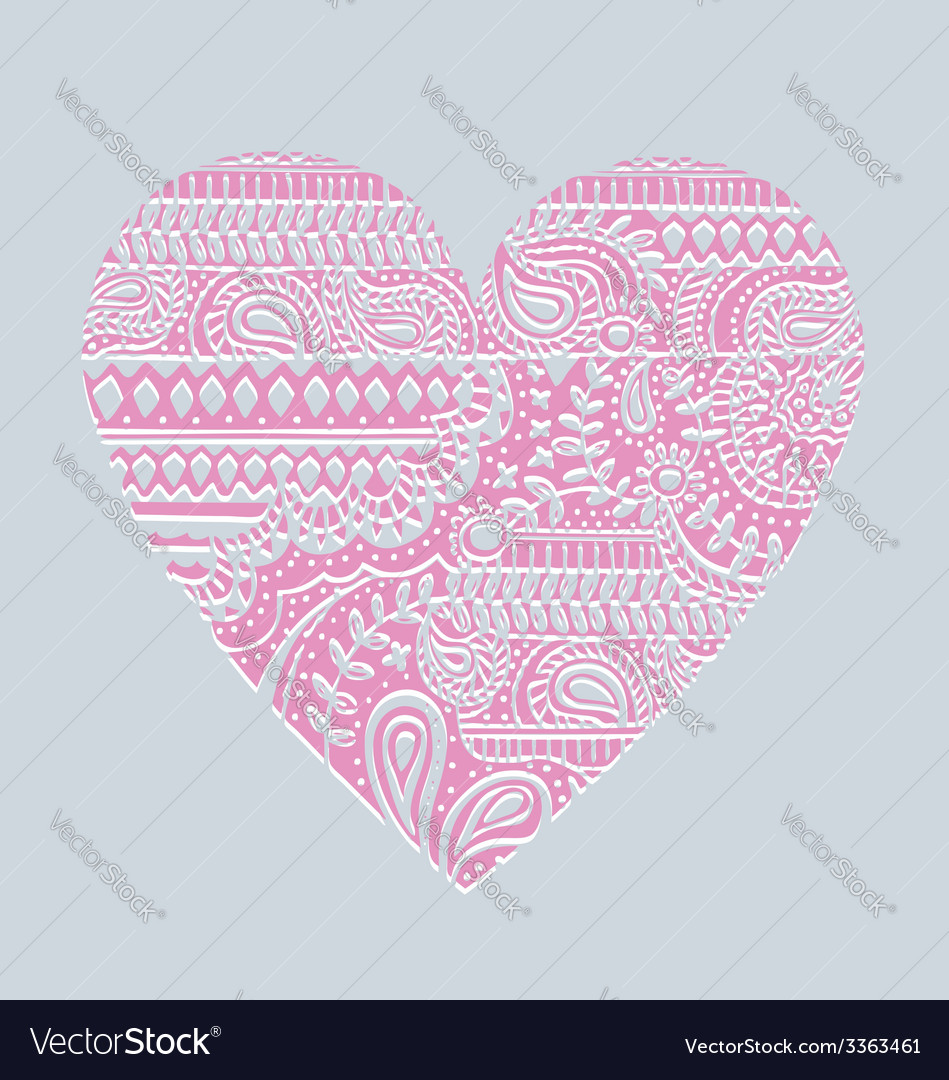 Carved heart vector | Price: 1 Credit (USD $1)