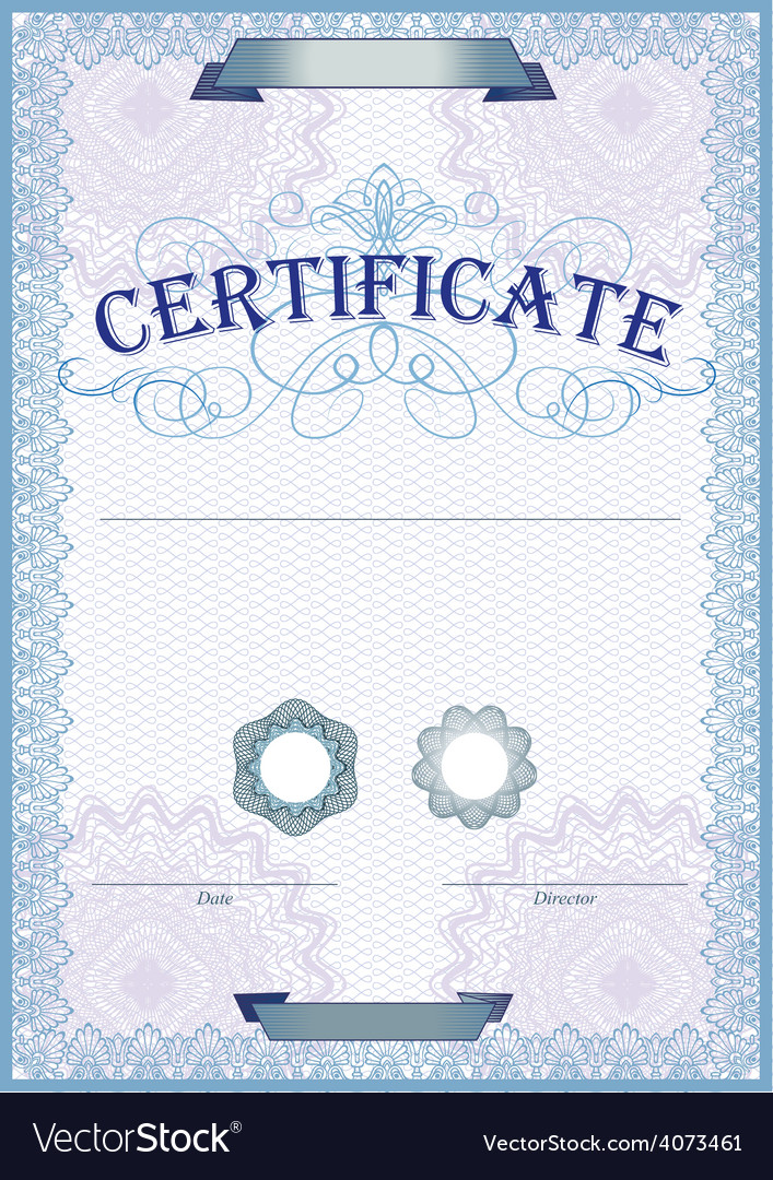 Certificate template vector | Price: 3 Credit (USD $3)