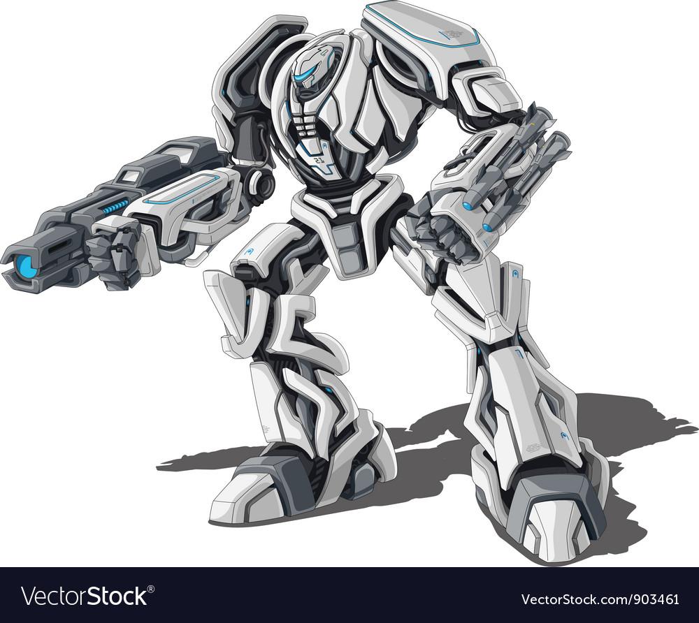 Robot vector | Price: 5 Credit (USD $5)