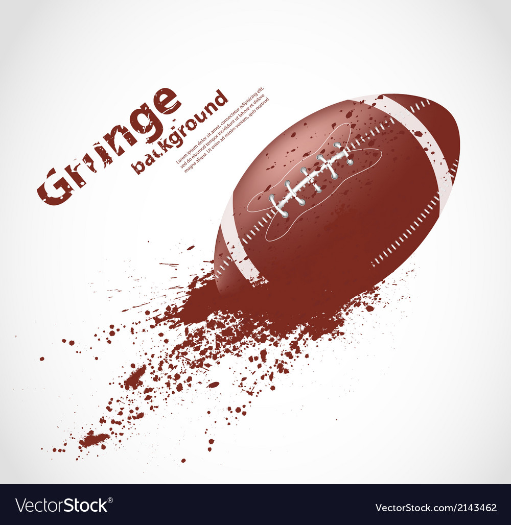 American football design vector | Price: 1 Credit (USD $1)