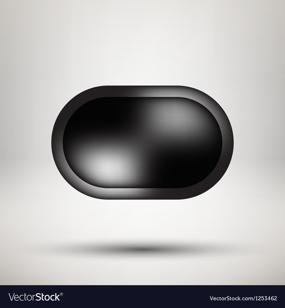 Black bubble icon badge with light background vector | Price: 1 Credit (USD $1)