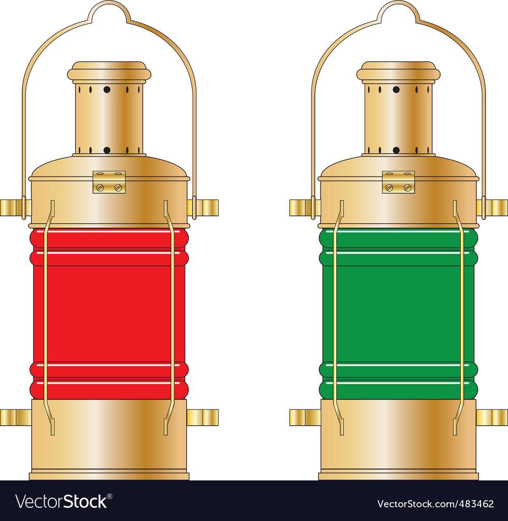 Lanterns vector | Price: 1 Credit (USD $1)