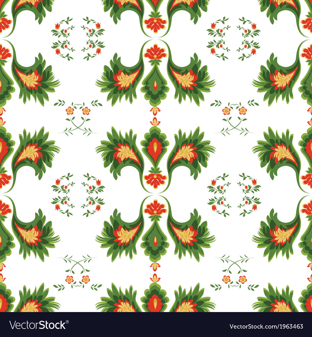 Seamless patterns on white background vector | Price: 1 Credit (USD $1)