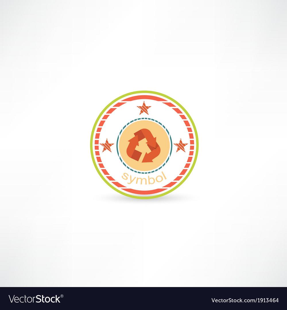 Cycle symbol icon vector | Price: 1 Credit (USD $1)