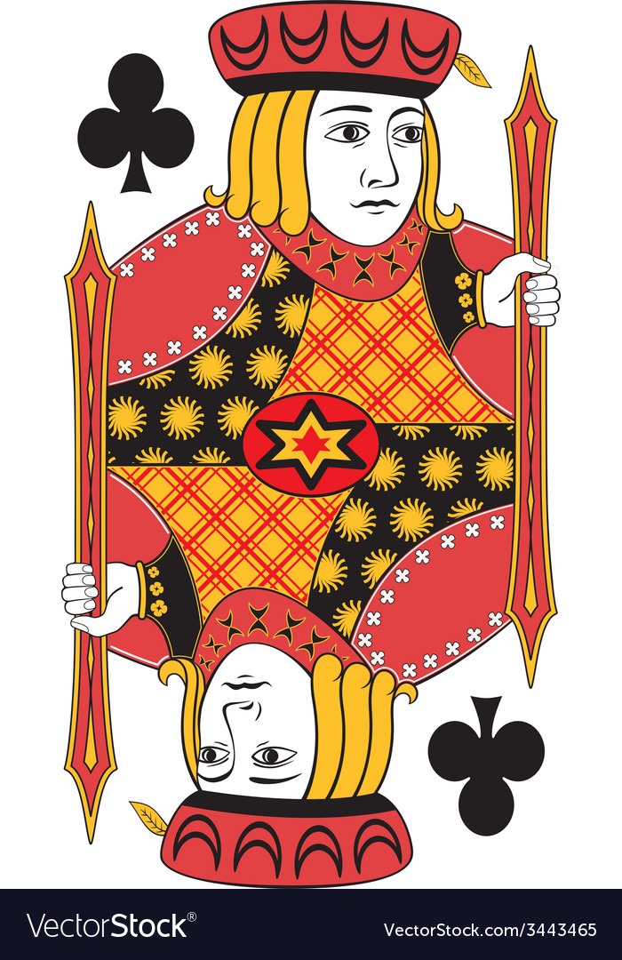 Jack of clubs no card vector | Price: 1 Credit (USD $1)