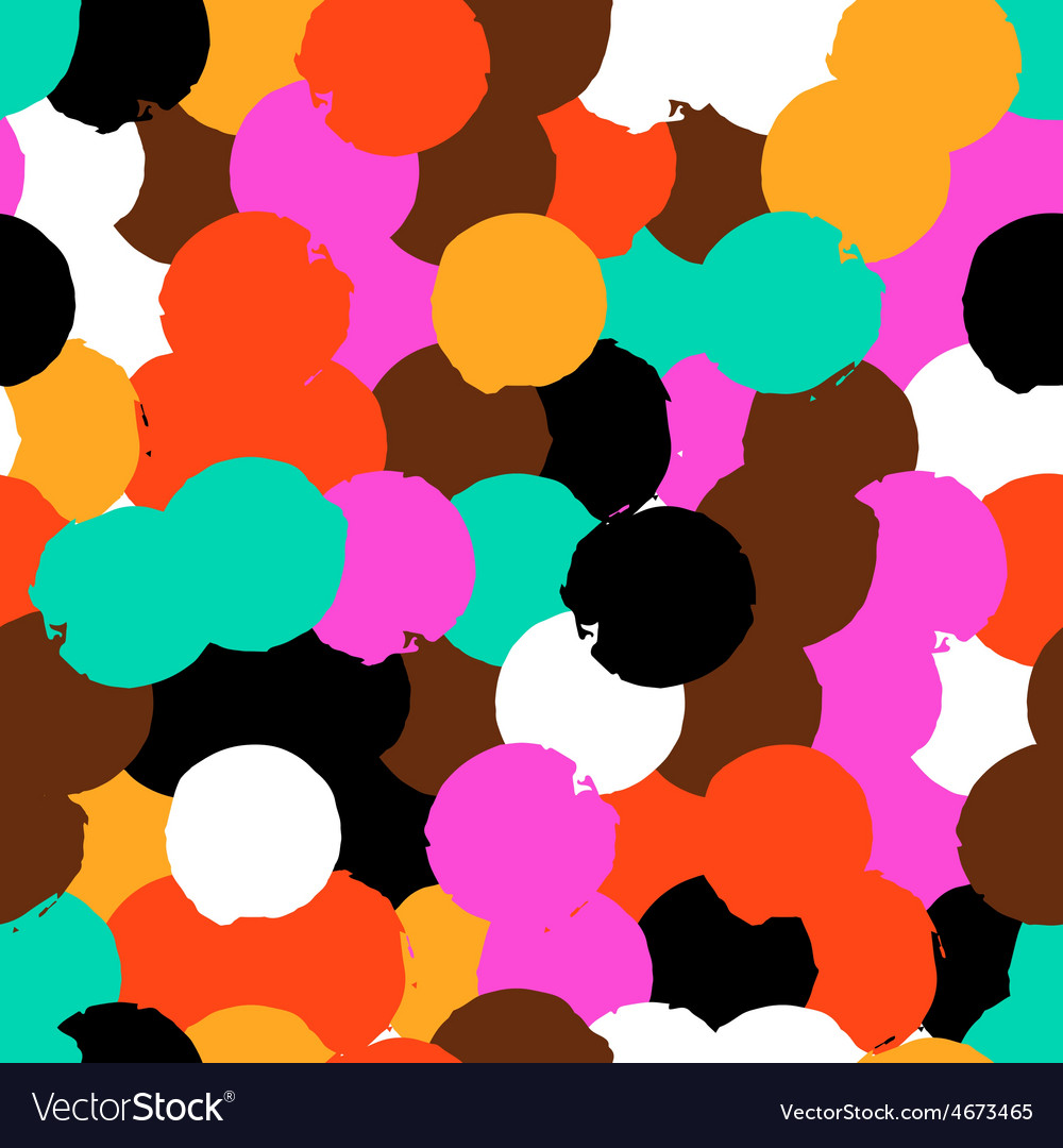 Pattern with big circles vector | Price: 1 Credit (USD $1)