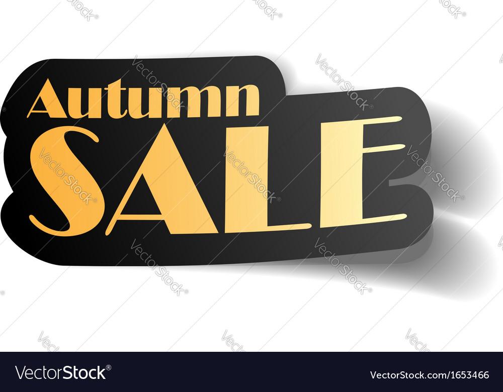 Autumn sale vector   Price: 1 Credit (USD $1)